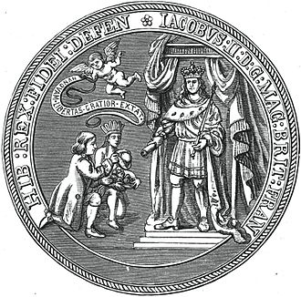 Massachusetts Bay Colony - Image: Seal of the Dominion of New England