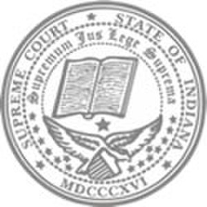 Seal of Indiana - Image: Seal of the Indiana Supreme Court