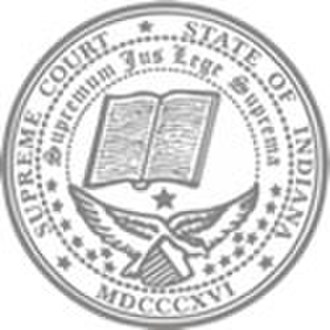 Supreme Court of Indiana - Seal of the Supreme Court of Indiana