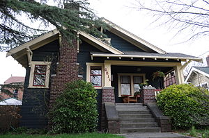 East Nashville, Tennessee - Many East Nashville homes are bungalows, like this.