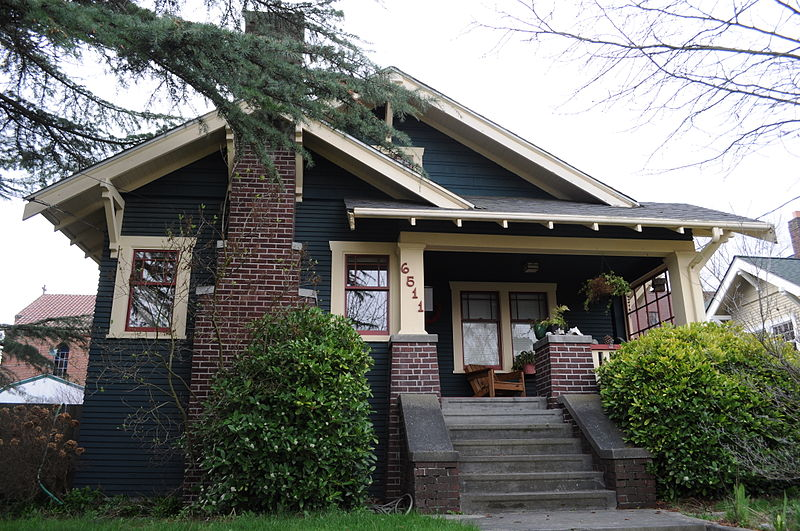 Streetcar suburbs bungalows and the american craftsman for American craftsman homes