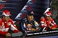 Sebastian Vettel - Press conference, 2010 German Grand Prix.jpeg