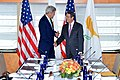Secretary Kerry Poses for a Photo With Cypriot President Anastasiades Before Their Bilateral Meeting in New York City (21544005278).jpg