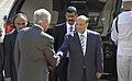 Secretary of Defense Chuck Hagel hosts an honor cordon to welcome Yemen President Abd Rabuh Mansur Hadi to the Pentagon July 30, 2013.jpg