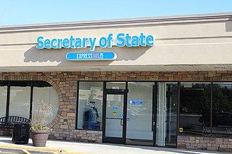 Michigan Secretary of State - Secretary of State office, Pittsfield Township