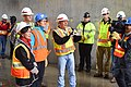 Secretary of the Interior Sally Jewell tours Folsom auxiliary spillway project (16460779886).jpg