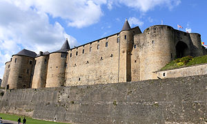 Principality of Sedan - The Château de Sedan, seat of the Lords, and later Princes, of Sedan