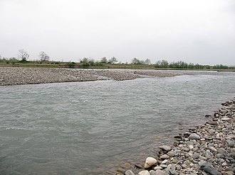 Sefīd-Rūd - Sefidrood river near Rasht-Iran