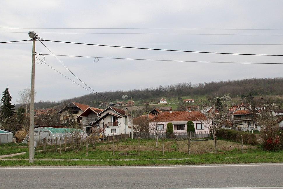 Selo Divci - opština Valjevo - zapadna Srbija - panorama - centar 2