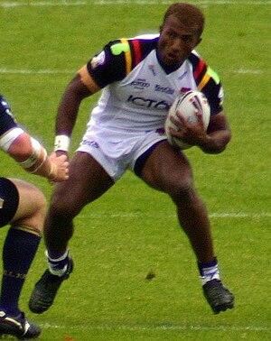 Semi Tadulala - Tadulala in action for Bradford in 2008