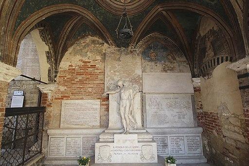 Cappella di Piazza in Siena Italy