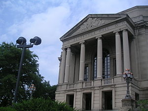 Cleveland Orchestra - Severance Hall, the orchestra's home since 1931.