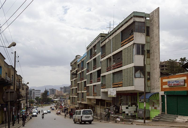 File:Shalom Shalome Apartment (View from NE to SW) (Picture taken on a Sunday).jpg