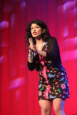 Shappi Khorsandi - Shappi Khorsandi at Glastonbury Festival 2015