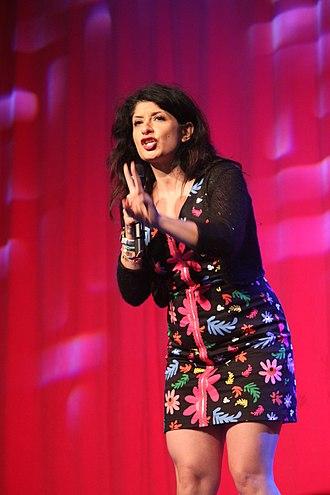 Shappi Khorsandi - Shappi Khorsandi at Glastonbury Festival 2015
