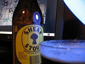 Beer in Australia - Sheaf Stout