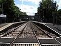 Sherborne Railway Station from level crossing - geograph.org.uk - 2019218.jpg