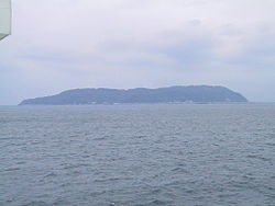 View of Shika Island from Hakata Bay