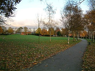 Shirley, West Midlands - Shirley park, Shirley