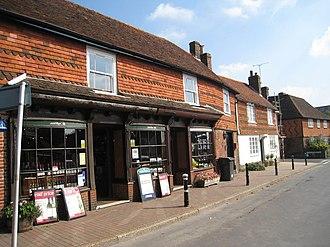 Wadhurst - Image: Shops on Church Street, St James Square, Wadhurst, East Sussex geograph.org.uk 984351