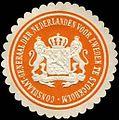 Siegelmarke Consulaat - Generaal der Nederlanden voor Zweden te Stockholm W0223618.jpg