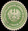 Siegelmarke Directorium des Koenigl. Lehrer-Seminars Linnich W0314112.jpg