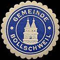 Siegelmarke Gemeinde Bollschweil W0310469.jpg