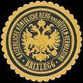 Siegelmarke Kaiserliche Königliche Berg- und Hütten-Verwaltung Brixlegg W0320913.jpg