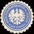 Siegelmarke Koenigliches Strafgefängniss bei Berlin - Plötzensee W0213245.jpg