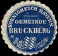 Siegelmarke Koenigreich Bayern Gemeinde Bruckberg W0293240.jpg