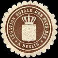 Siegelmarke Legation royale des Pays - Bas a Berlin W0223806.jpg