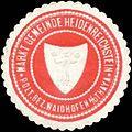 Siegelmarke Markt Gemeinde Heidenreichstein pol. Bezirk Gmünd Nieder-Österreich W0318784.jpg