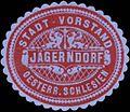 Siegelmarke Stadt-Vorstand Jägerndorf W0333034.jpg