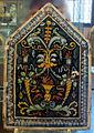 Siena, mattonella da pavimento di palazzo petrucci a siena, 1509 ca, 01.JPG