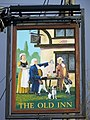 Sign for the Old Inn, Woodfalls - geograph.org.uk - 651856.jpg