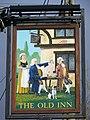 Sign for the Old Inn, Woodfalls - geograph.org.uk - 651856.jpg