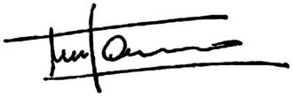 Guido de Marco - Image: Signature of Guido de Marco