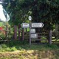 Signpost at Plealey - geograph.org.uk - 419731.jpg