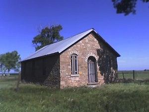 Silkville, Kansas - Silkville's school house