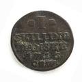 Silvermynt, 1 skilling, 1716 - Skoklosters slott - 109614.tif