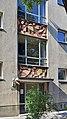 Simmering - Gemeindebau Salvador-Allende-Hof - Stiege 83.jpg