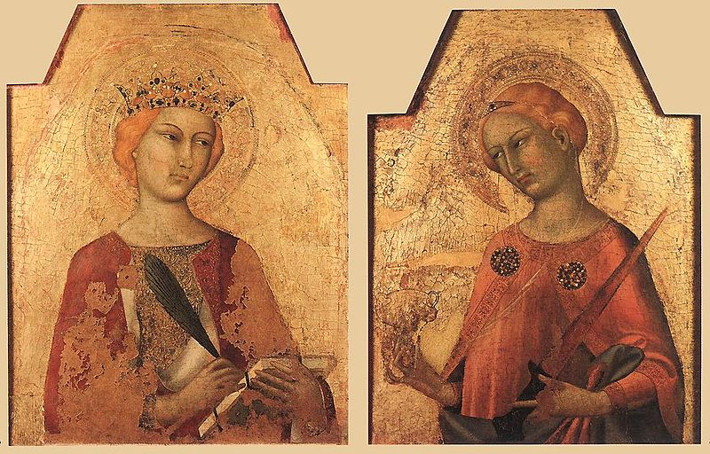 File:Simone Martini - St Catherine and St Lucy - WGA21418.jpg