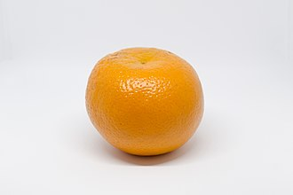 Orange (fruit) - An orange as whole
