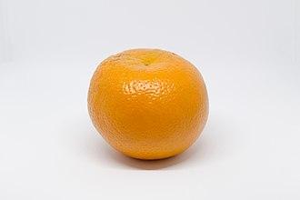 Orange (fruit) - An orange as whole