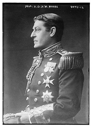 Gordon Moore (Royal Navy officer) - Moore in 1916