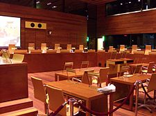 Sitzungssaal des EuGH