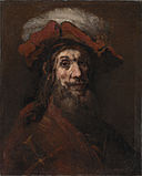 """Skitse til Ridderen med falken, kendt som """"Korsridderen"""".jpg"""