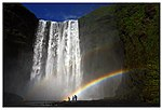 Skogafoss with Rainbow (19731920224).jpg