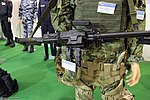 Skorpion machine gun system at Interpolitex-2016 02.jpg