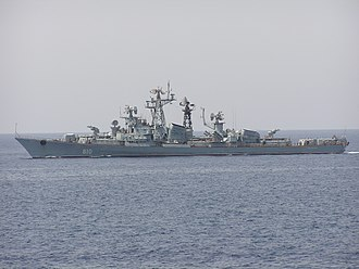 Kashin-class destroyer - Image: Smetlivyy 2003